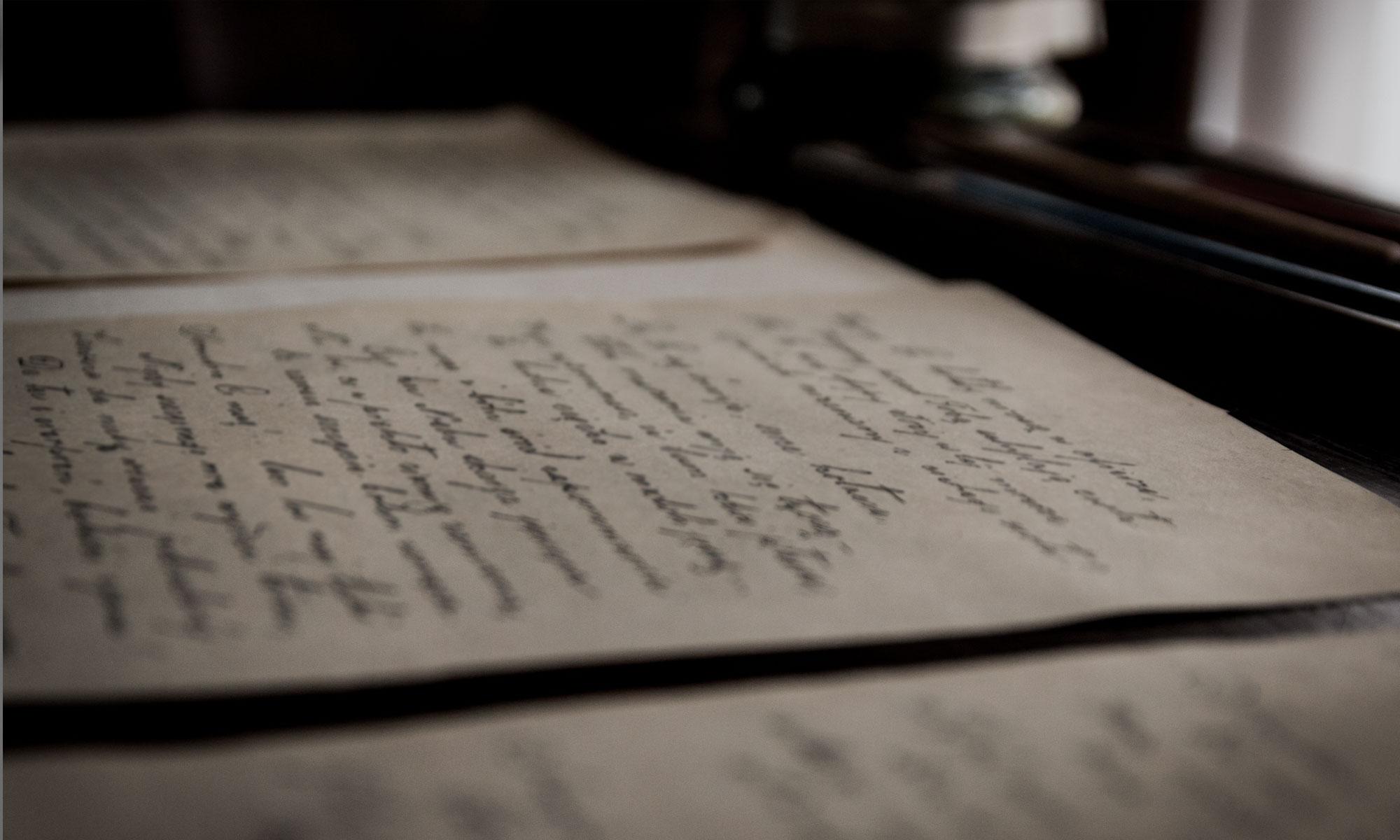Ma dernière lettre
